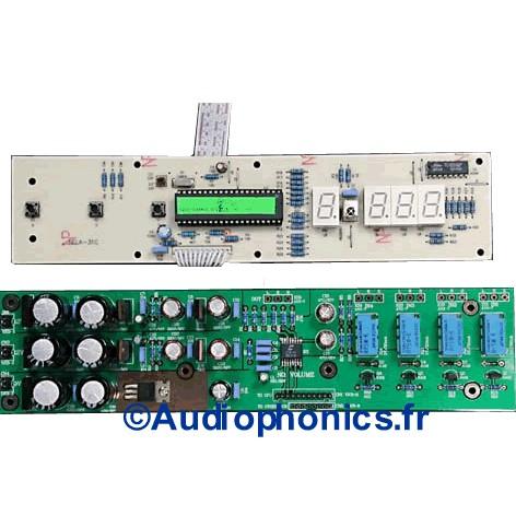 LITE V3310 4ch Contrôleur de volume 4 voies ou 2 voies XLR