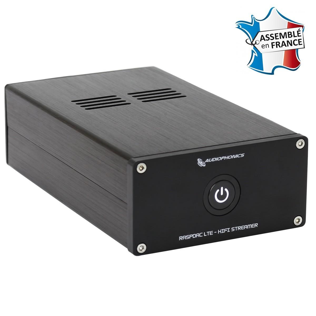 AUDIOPHONICS RaspDAC I-TDA1387 - Streamer Raspberry Pi & DAC TCXO