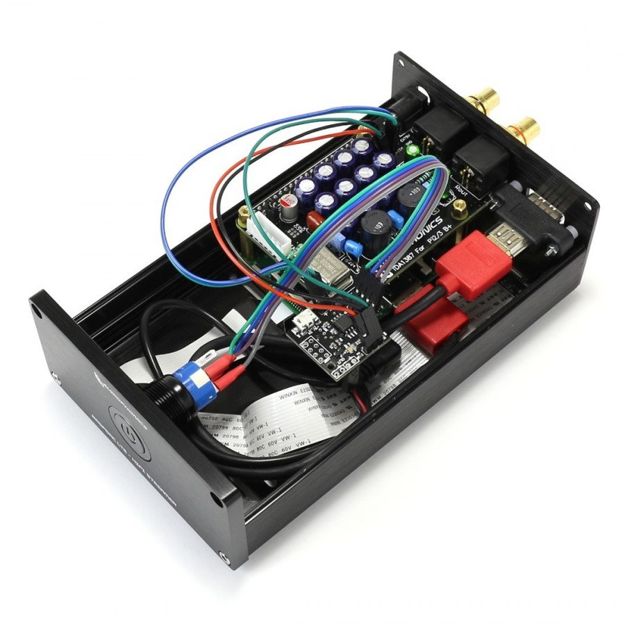 Audiophonics Raspdac I Tda1387 Streamer Raspberry Pi Dac Tcxo Regulator Using L200 Electronic Circuits And Diagramelectronics