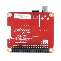 JustBoom Digi HAT Interface digitale pour Raspberry Pi 3 / Pi 2 / A+ / B+