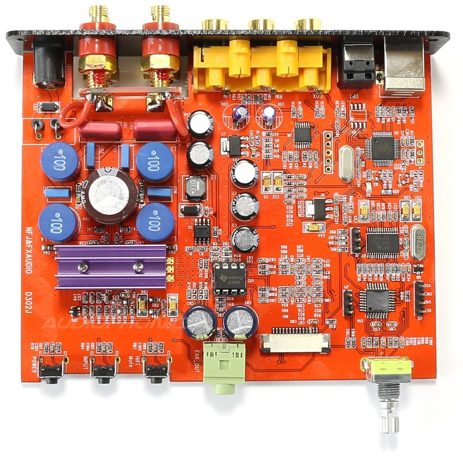 Fx Audio D302 Pro Sta369 Fda Amplifier Stereo 2x 30w 8 Ohm Black An Lm380 Amplifierchip Is Used In The Following Circuit Amplificateur Numrique Class D Sta326 Stro 50w Noir