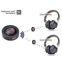 AVANTREE PRIVA III Transmetteur Audio Bluetooth 4.2 Apt-X Low Latency Multipoint