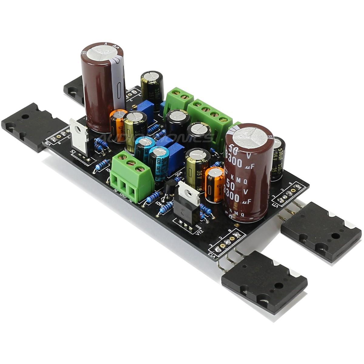 TTC5200 Amplificateur classe A bipolaire 2x10W / 8 Ohm
