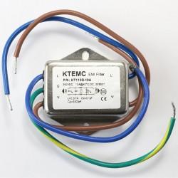 Filtre Secteur Anti-Parasites/EMI 230V 3A avec câble