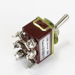 Interrupteur à Bascule Type Aviation 1 pôle 2 positions 250V 15A