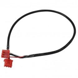 Câble XH 2.54mm Femelle / Femelle blindé 2 Connecteurs 3 Pôles Noir 30cm (unité)