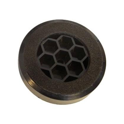 Pied en plastique noir 60mm (unité)