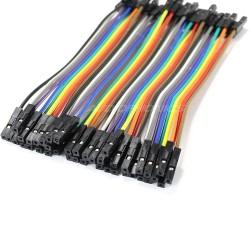 Connectors female / female 12cm (Set x40)