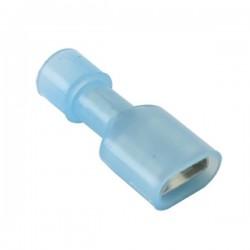 Cosse femelle 6.3mm isolée Nylon 1.5 - 2.5mm² (Set x20)