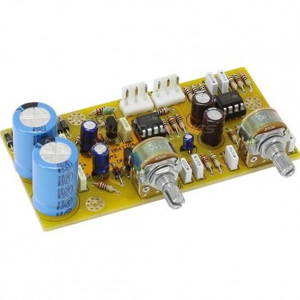 Module Préamplificateur avec contrôle de tonalité grave AOP NE5532 DIP8