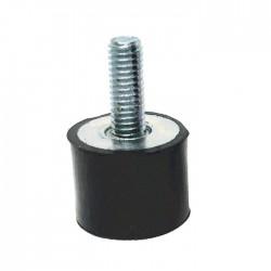 Entretoise Caoutchouc Mâle / Femelle Silent Bloc Anti Vibratoire M3x8.5 + 5.5mm (Unité)