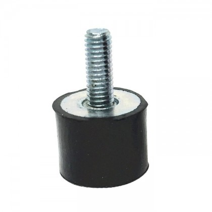 Rubber spacer M4x14mm Silent bloc Anti-vibration (Unit)