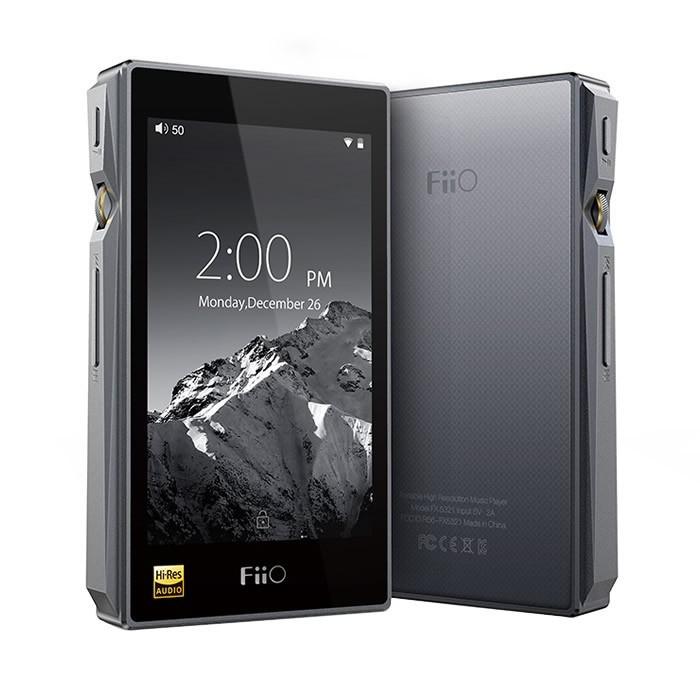 FiiO X5 3rd Gen DAP DAC Baladeur numérique HiFi 32bit / 768kHz 2xAK4490 Titanium