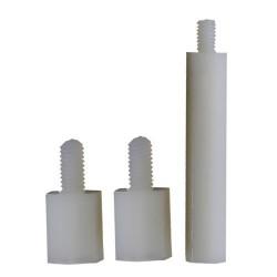 Entretoises Nylon Mâle / Femelle M3x10 + 6mm (x10)