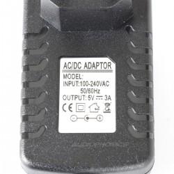 Adaptateur secteur alimentation 100-240V AC vers 5V / 3A DC