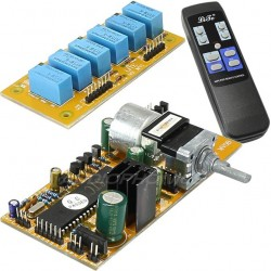 LITE MV04 volume control module Motorised 2+2 channels