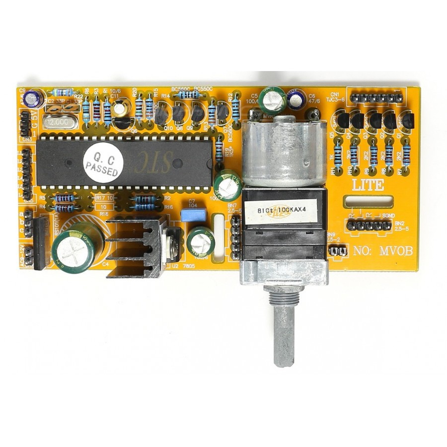 Lite Mv04 Volume Control Module Motorised 2 Channels Audiophonics Ceiling Speaker Wiring Diagram Controler