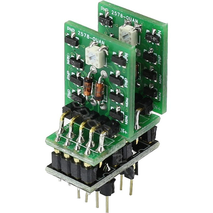 Full discrete double AOP Amp Fully Complementary Class A DIP8 (Unit)