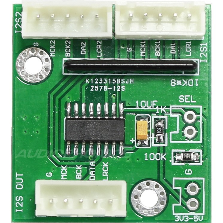 Two-way Audio I2S two I2S in/out one out Switching Module