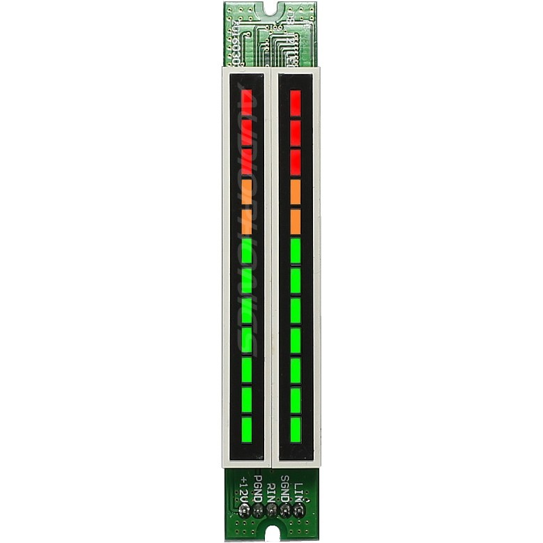 LED Bar Graph Dual Column Vumeter display Decibel level 2x12