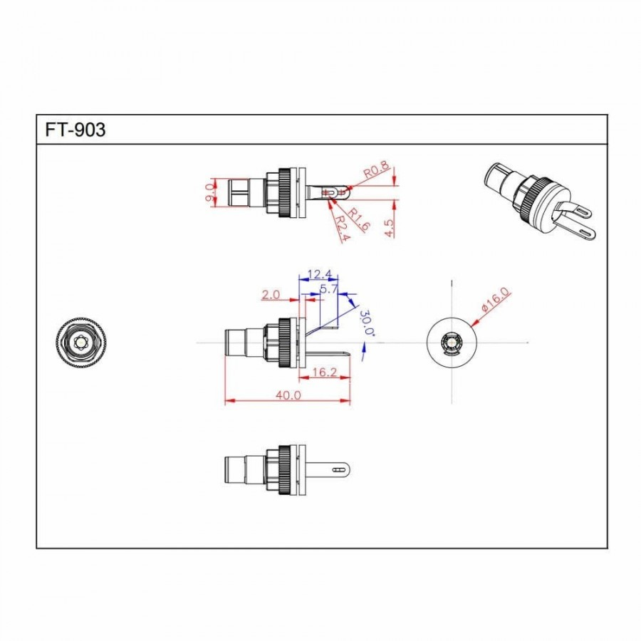 Furutech Ft 903 G Rca Inlet Gold Plated Pure Copper Pair To Dvi Schematic