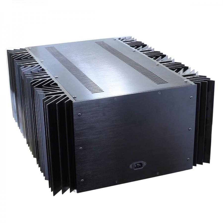 100 Aluminium Diy Box Case With Vu Meter For Audio Amplifier Mono Circuit 499x480x260mm