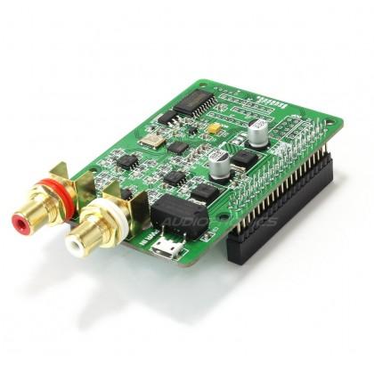 AUDIOPHONICS I-Sabre DAC ES9018K2M Raspberry Pi 3 / Pi 2 A+ B+ / I2S