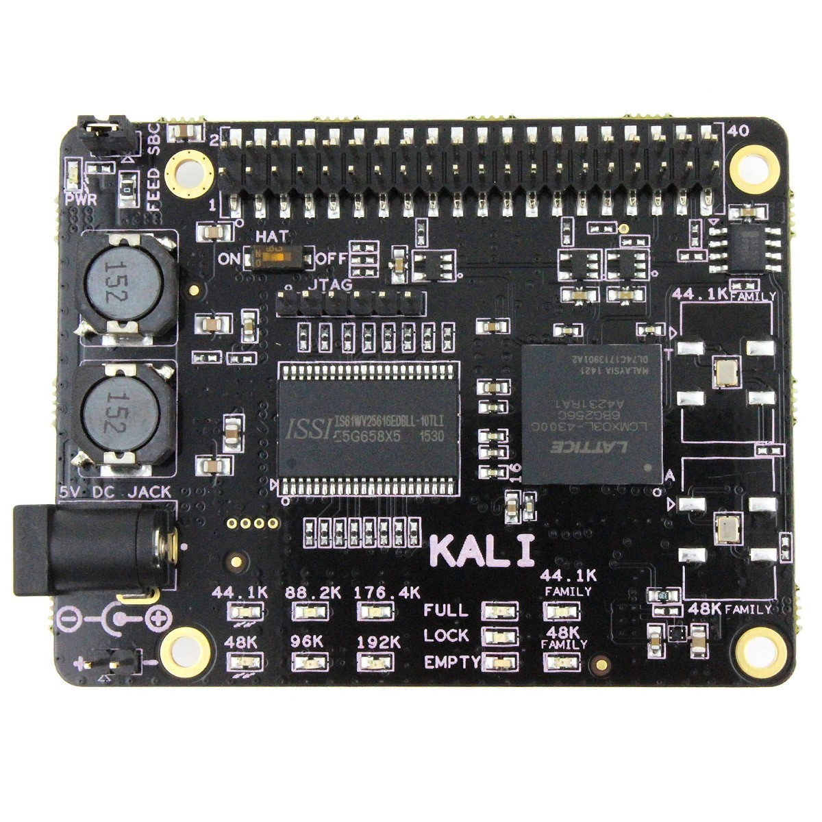 ALLO KALI Reclocker I2S FIFO Sparky SBC and Raspberry 44/48MHz 32bit 384kHZ