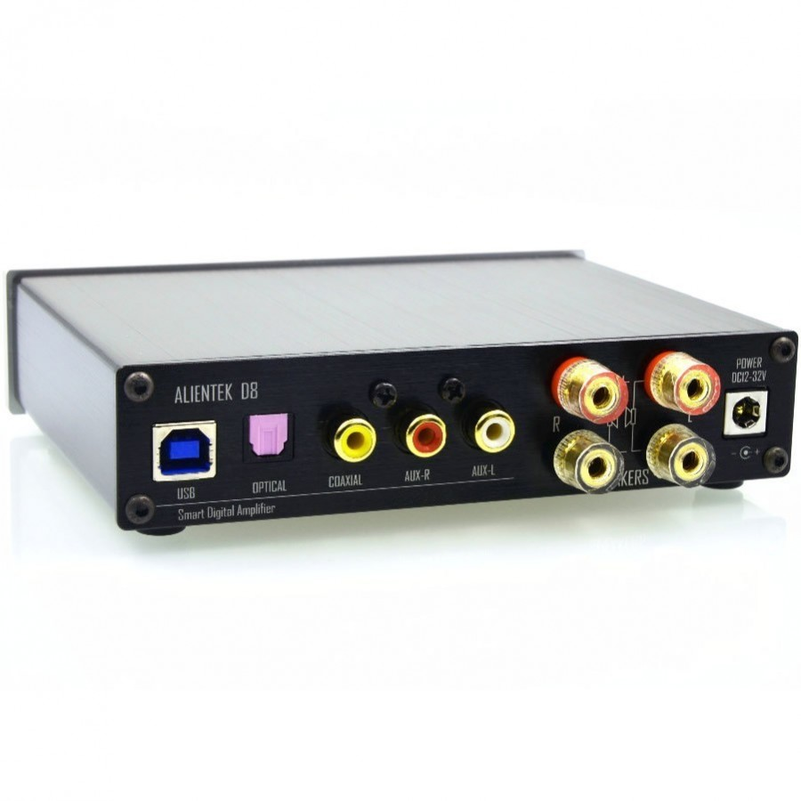 Pack Full Digital Alientek D8 2x50w Smsl B1 Bluetooth