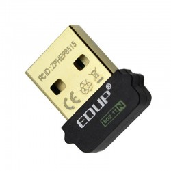 Adaptateur WiFi 802.11n 150Mbps sur port USB 2.0 Plug & Play