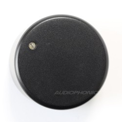 Aluminum Button 40x30mm Axis notched Ø6mm with blue LED
