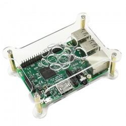 Boîtier Acrylique transparent pour Raspberry Pi 3 B+ / Pi 2