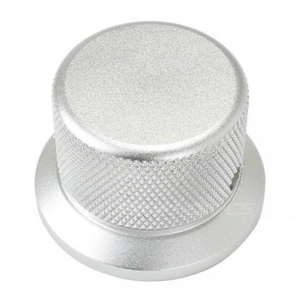 Knob Aluminum Grip D Shaft 30x38x25mm Ø6mm Silver