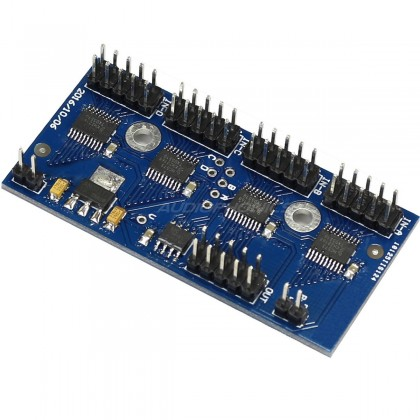 Four-way Audio I2S input to one I2S out Switching Module