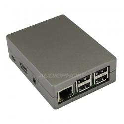 Boîtier aluminium gris pour Raspberry Pi 3 / Pi 2