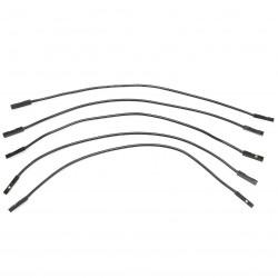 Câble I2S 2.54mm Femelle / Femelle Silicone 17cm (x5)