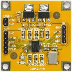 Module ASRC I2S Upsamling Asynchrone anti jitter CS8421 32Bit/192kHZ
