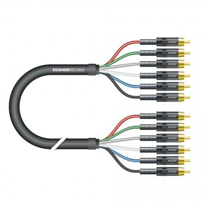 HICON 5.1 Câble de Modulation multicanal 5.1 RCA 1.5m