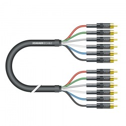 HICON 5.1 TRANSIT Interconnect cable multi channel 5.1 RCA-RCA 1.5m