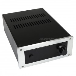DIY Amplifier 100% Aluminium Chassis 311x220x90mm