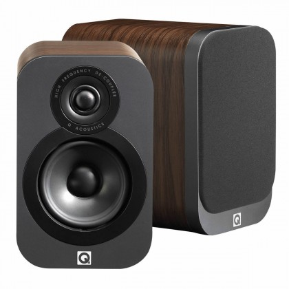 Q acoustics 3010 Bookshelf Speakers Walnut (Pair)