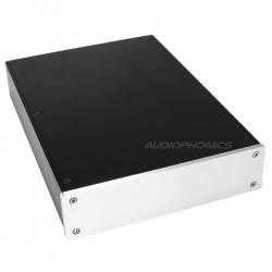 DIY Box / Case 100% Aluminium with IEC inlet 306x215x55mm