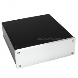 DIY Box / Case 100% Aluminium with IEC inlet 228x215x70mm