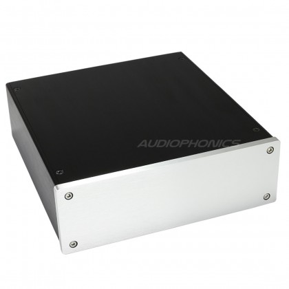 Boîtier DIY 100% aluminium 228x215x70mm