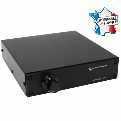 AUDIOPHONICS Passive Source Selector Alps 1 to 5 Black