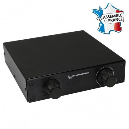 AUDIOPHONICS Passive préamplifier / Source Selector Alps 1 to 5 Black