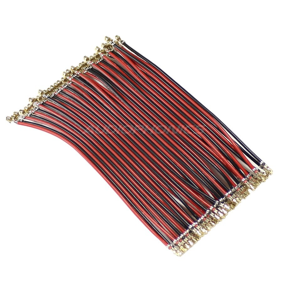 XH 2.54mm Ribbon Cable Female / Female 40 Poles No Casing 10cm (Unit)