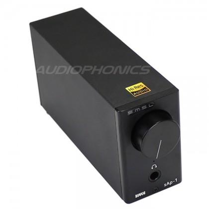 SMSL sAp-1 Stereo Headphone Amplifier TPA6120A2 270mW / 32 Ohm Black