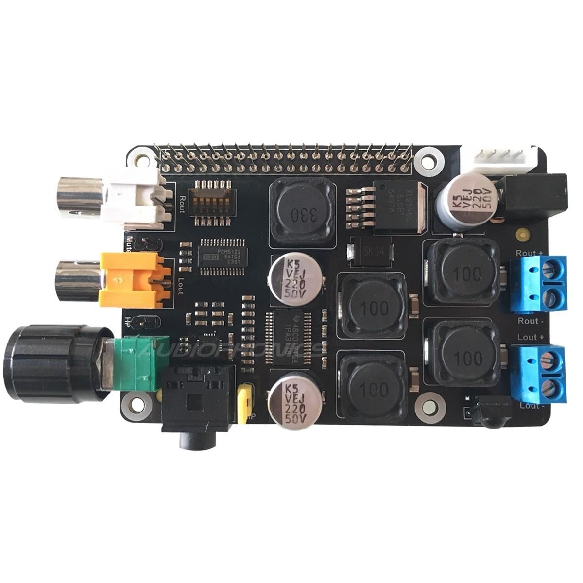SUPTRONICS ST400 V2 Module DAC PCM5122 / Ampli Casque / Amplificateur Class D 2x20W