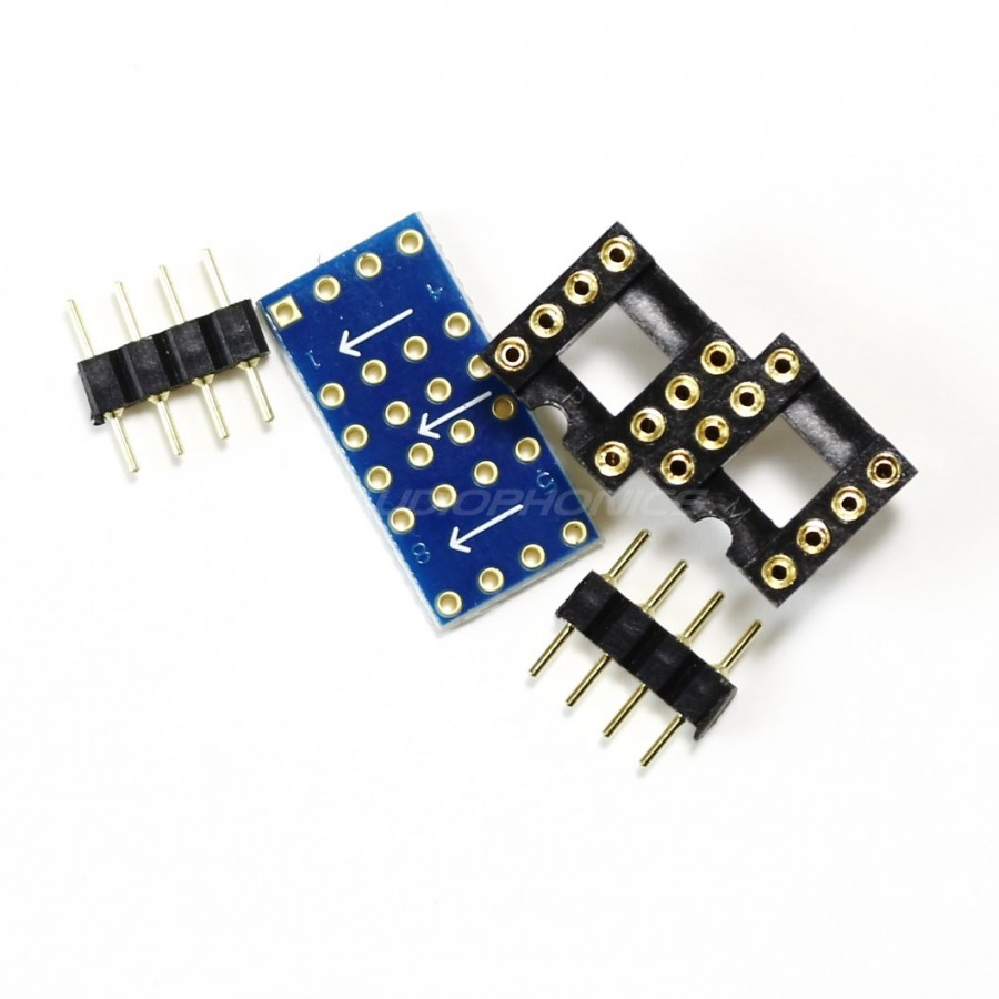AOP DIP8 5534D double mono soldering 8 pin to stereo AOP 5532D on ...